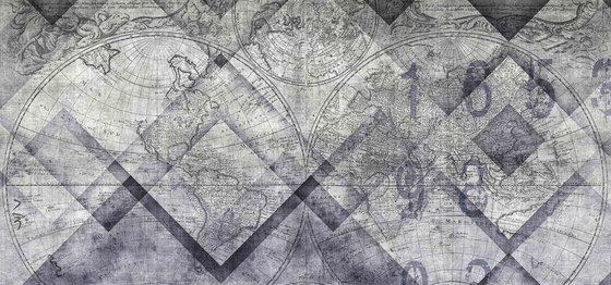 geometric | geomap by N.O.W. Edizioni | Wall art / Murals