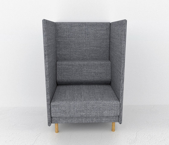 private high back 1 seater loungesessel von icons of denmark architonic. Black Bedroom Furniture Sets. Home Design Ideas