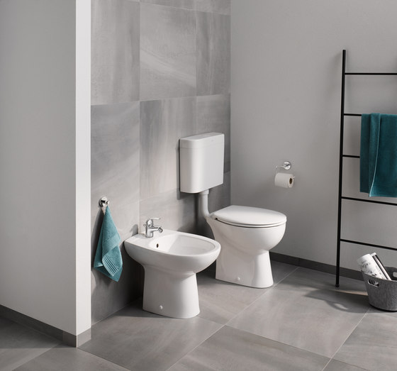 Bau Ceramic WC wall hung by GROHE | Toilets