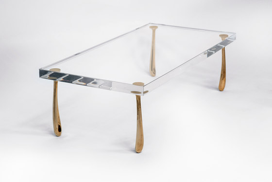 Jupiter Low Table - Acrylic de STACKLAB | Mesas de centro