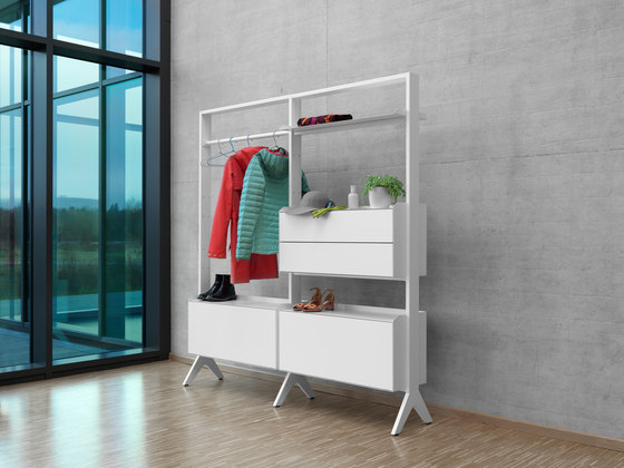SCALA wardrobe by Müller Möbelfabrikation | Shelving