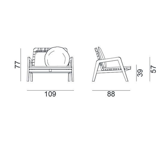 InOut 862 von Gervasoni | Sessel