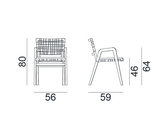 InOut 866 by Gervasoni | Chairs