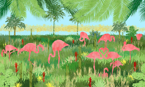 Flamingo by WallPepper | Wall coverings / wallpapers