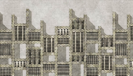 Metallic city by WallPepper | Wall coverings / wallpapers
