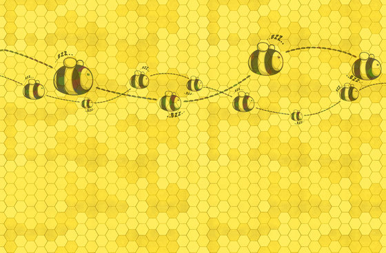 Honey to the bee by WallPepper   Wall coverings / wallpapers