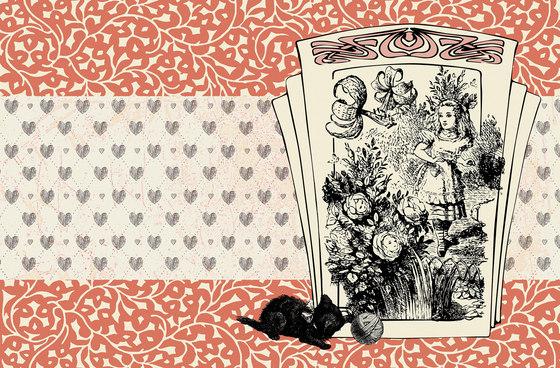 Alice and the black kitten de WallPepper | Revestimientos de paredes / papeles pintados