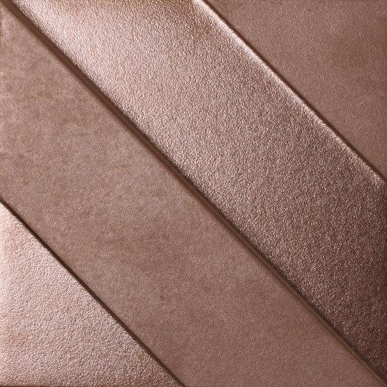 Shapes | Transverse 4 Copper by Dune Cerámica | Ceramic tiles