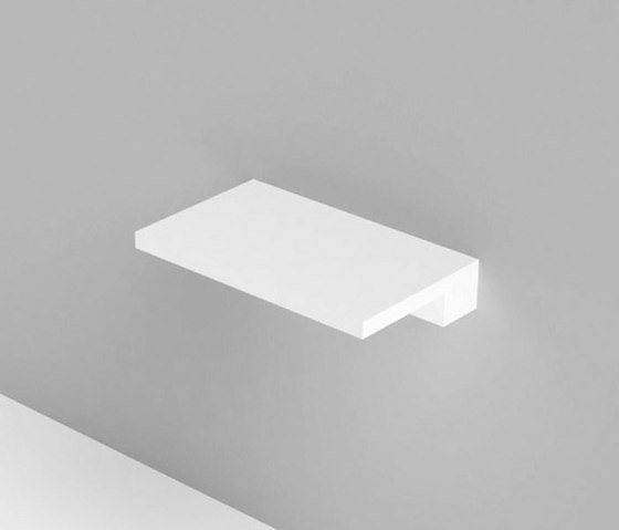 Unico shelves by Rexa Design | Bath shelves
