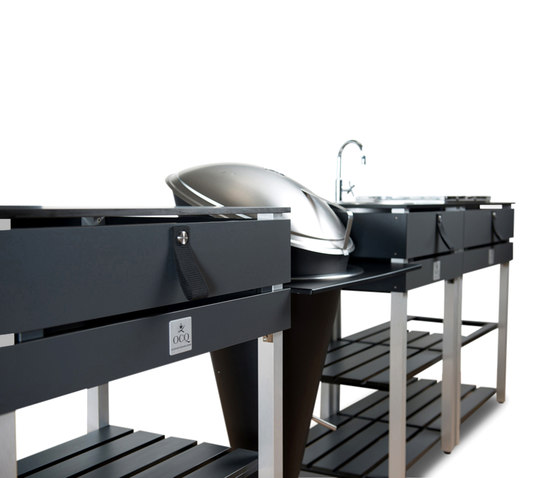 ocq Modular | Edition Grey Charcoal by OCQ | Modular outdoor kitchens