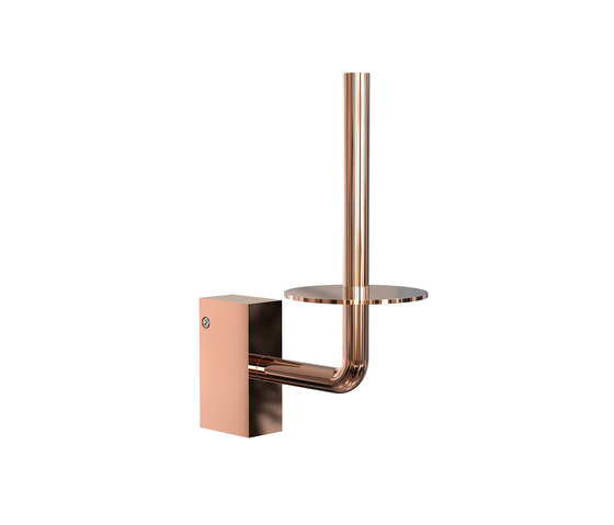Quadra Toilet Roll Holder 4 by Frost | Paper roll holders