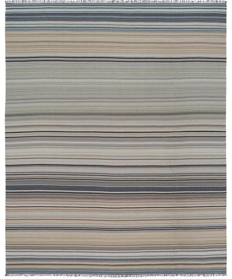 Flatweave - Stripes Grauland by REUBER HENNING | Rugs
