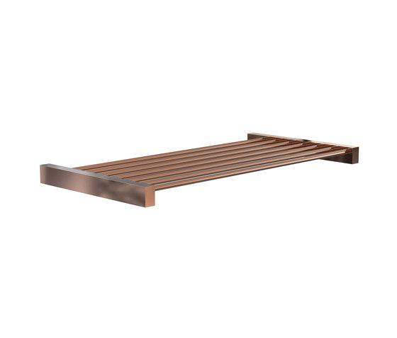 Quadra Shelf 8 by Frost | Bath shelves