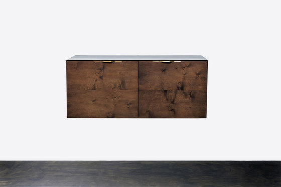 Drift 2 door cabinet by District Eight   Cabinets