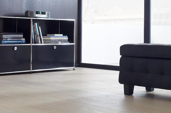 Silverline Edition Oak Silver 35 by Bauwerk Parkett   Wood flooring
