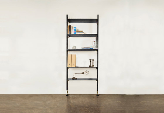 Theo wall unit with medium shelves by District Eight | Shelving