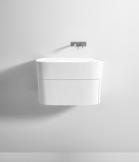 FONTE Washbasin with Drawer by Rexa Design | Vanity units