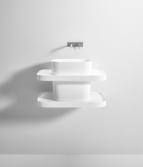 FONTE TOTEM SUSPENDED BASIN by Rexa Design | Wash basins