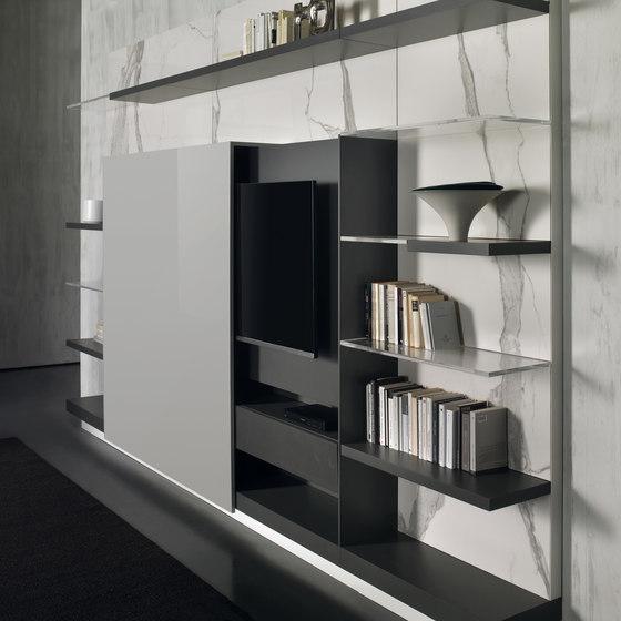 N.C. LANDSCAPE EVO by Acerbis | Wall storage systems
