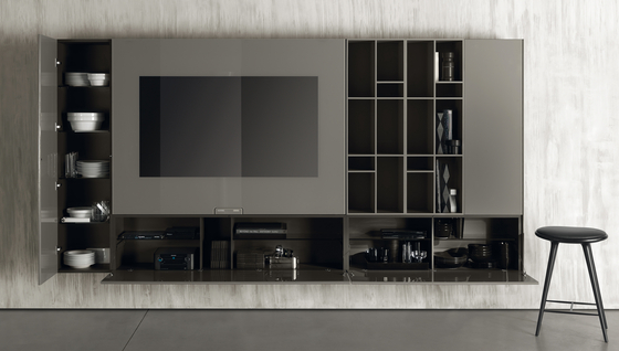 N.C. SMARTWALL by Acerbis | Multimedia sideboards
