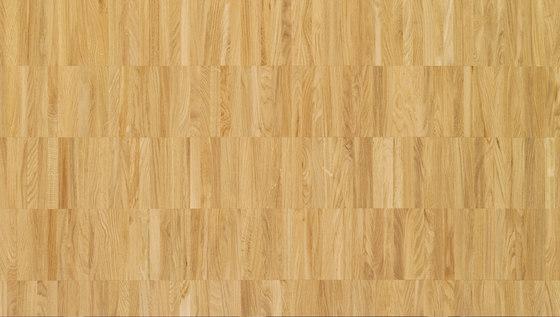 Pavimento massello Rovere Parallelo 24 di Bauwerk Parkett | Pavimenti legno