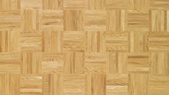 Pavimento massello Rovere Mosaico 24 di Bauwerk Parkett | Pavimenti legno