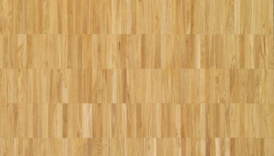 Pavimento massello Rovere Parallelo 35 di Bauwerk Parkett | Pavimenti legno