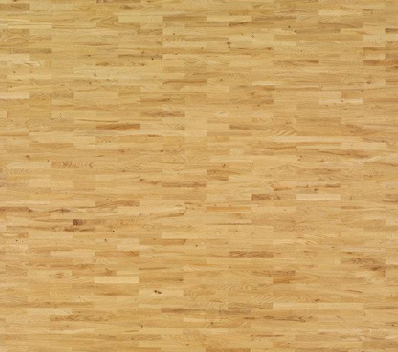 Solid parquet Oak English 35 by Bauwerk Parkett | Wood flooring