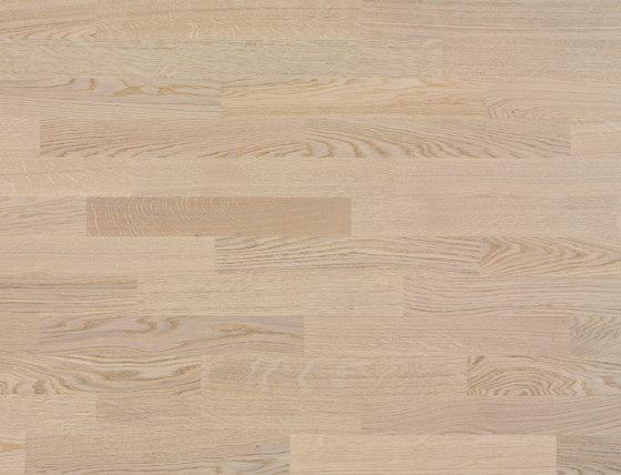 Unopark Rovere Farina 23 di Bauwerk Parkett | Pavimenti legno