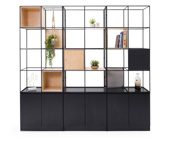 Palisades Grid by Spacestor | Shelving