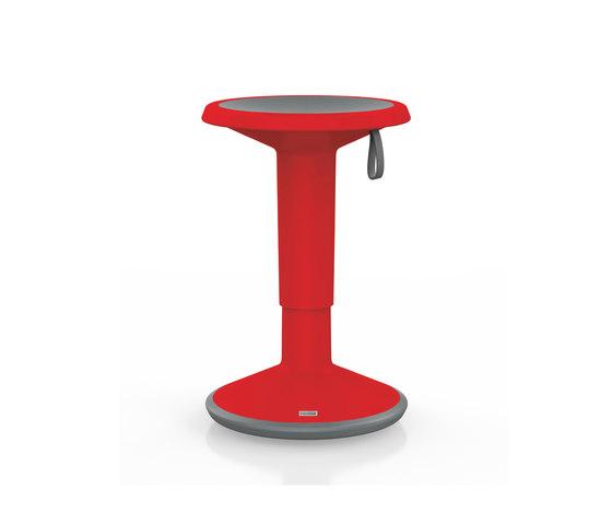 UPis1 Stool red de Interstuhl | Taburetes de oficina