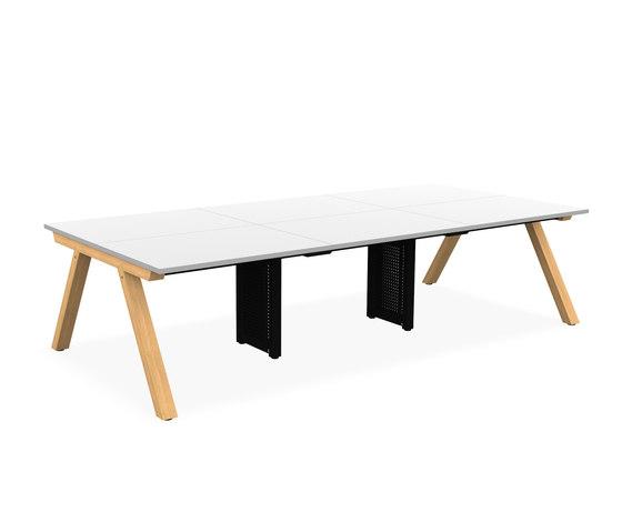 Zee Bench Desk di Spacestor   Scrivanie
