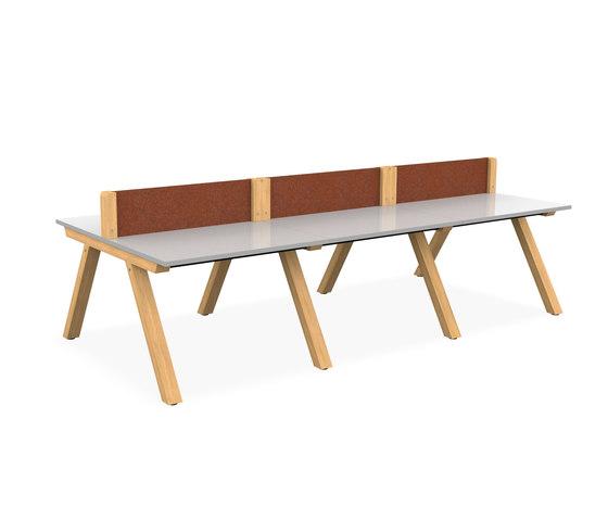 Zee Bench Desk di Spacestor | Scrivanie