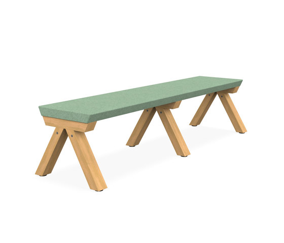Zee Bench Desk di Spacestor | Panche
