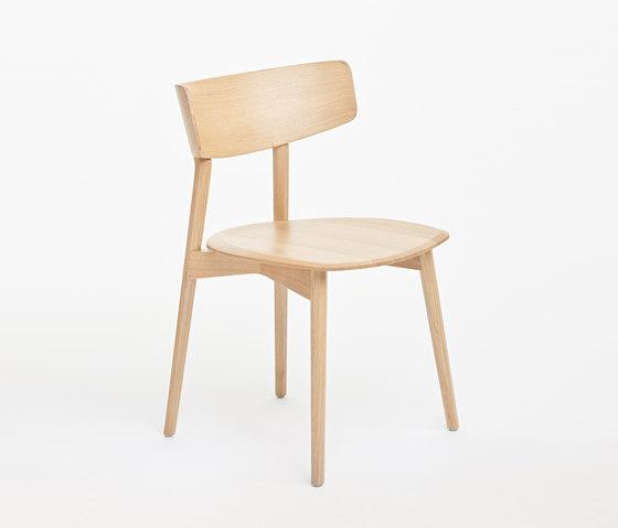Marlon Dining Chair, Massivholzstuhl von AXEL VEIT | Stühle
