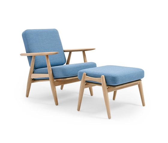 GE 240 Easy Chair with Footstool by Getama Danmark | Armchairs