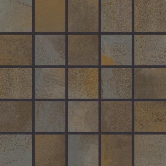 Juno corten by Grespania Ceramica | Ceramic mosaics