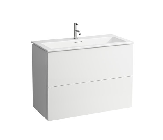 Kartell by LAUFEN   Combination of washbasin with vanity unit by Laufen   Vanity units