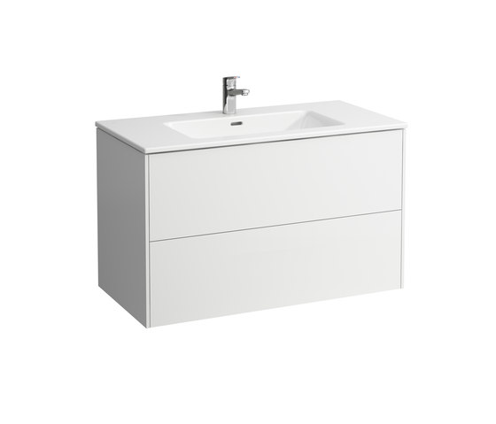 LAUFEN Pro S | Combination of washbasin with vanity unit by Laufen | Vanity units