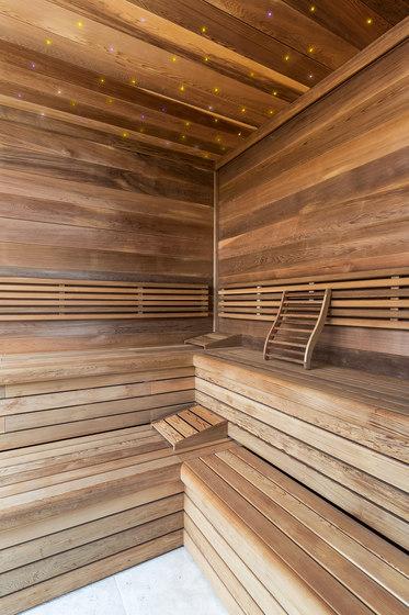 Cedar Indoor sauna by DEISL SAUNA & WELLNESS   Saunas