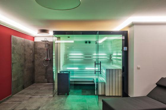 Aspen Indoor sauna by DEISL SAUNA & WELLNESS   Saunas