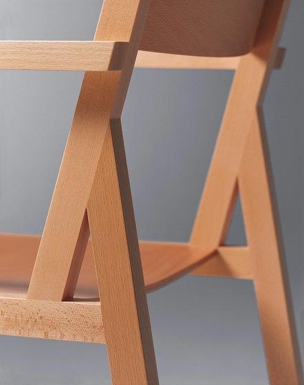Steiner | Chair Delta with armrests di Schmidinger Möbelbau | Sedie