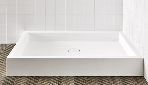 Unico Alto shower tray by Rexa Design   Shower trays