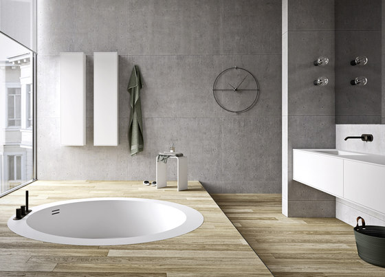 Unico Rotonda Maxi Recessed by Rexa Design | Bathtubs