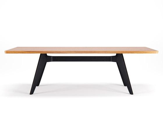 Lavitta Table 240cm – Oak / Stained Black von Poiat | Esstische