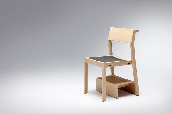 Sacral | Chair Exsel Sacral di Schmidinger Möbelbau | Sedie