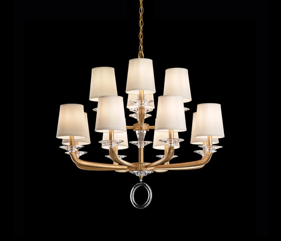 Emilea Chandelier de Swarovski Lighting | Chandeliers