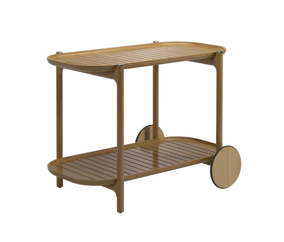 Bar Cart by Gloster Furniture GmbH | Trolleys