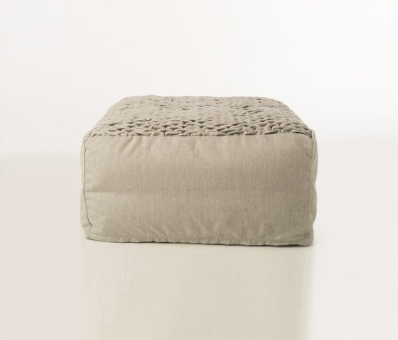 Accessories | Site Brick outdoor pouf by Warli | Poufs