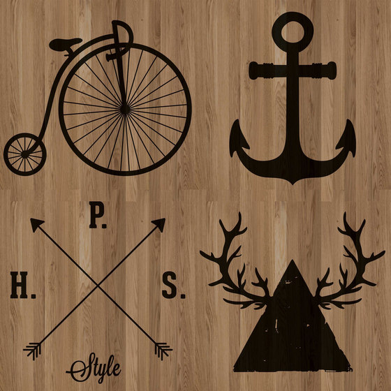 HI6.01.1 Black by YO2 | Wood flooring